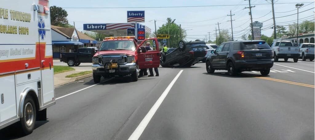 Sproul Road MVA – May 15, 2020