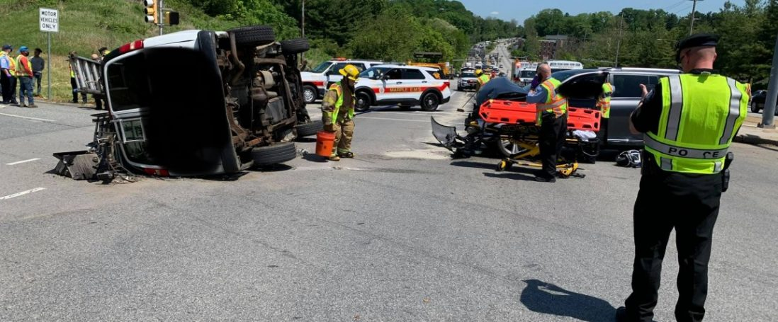 West Chester Pike & I-476 MVC – May 26, 2020