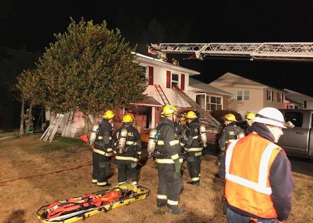 HOUSE FIRE – NOVEMBER 25, 2017